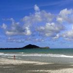 きれいなカイルアビーチ