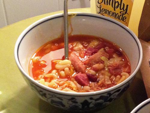 スーザン特製のスープ