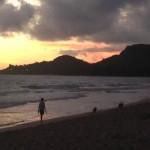 カイルア(Kailua)の夜明け inハワイ