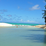 天国の海、ラニカイビーチ(Lanikai Beach) その2