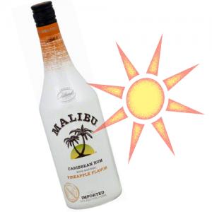 パイナップル味のmalibu(マリブ)