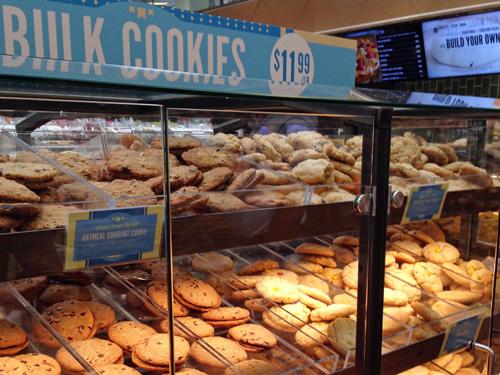 ホールフーズのクッキー