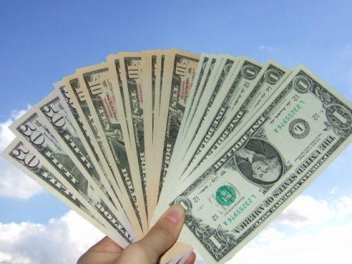 ドル紙幣両替