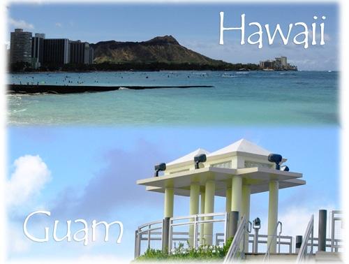 ハワイとグアムの違い
