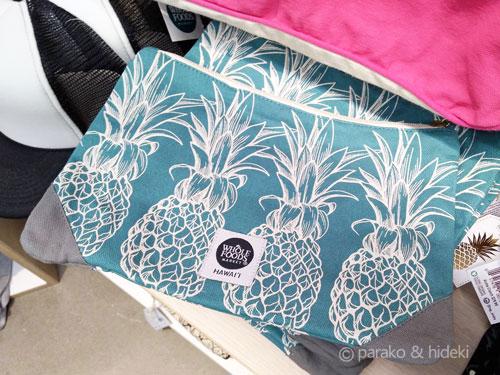 ホールフーズマーケットハワイのクラッチバッグ