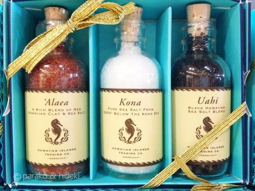 ハワイの天然塩
