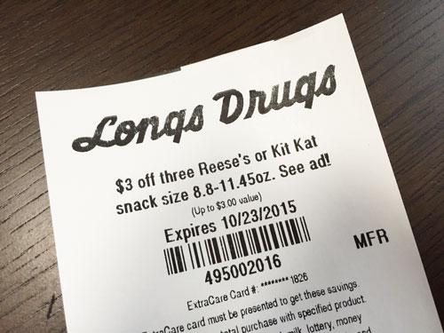 ロングスドラッグスのクーポン