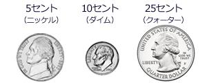アメリカ硬貨