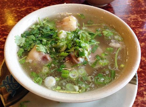 オックステールスープ(朝日グリル)