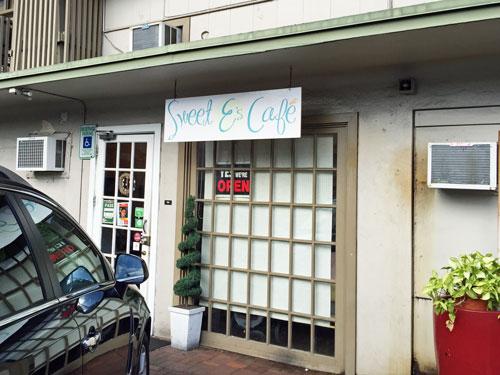 スイートイーズカフェの入口