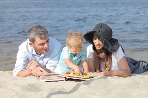 海辺の家族