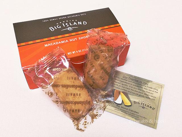 ビッグアイランドキャンディーズのショートブレッド