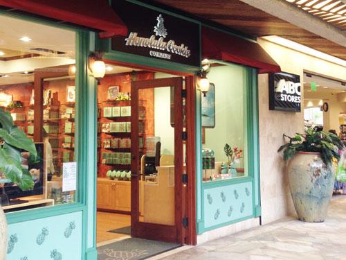 ホノルルクッキーの店舗