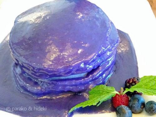 ウベパンケーキ(紫芋パンケーキ)