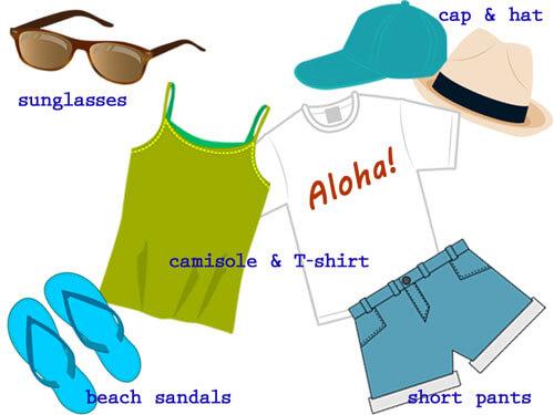 ハワイのおすすめ服装