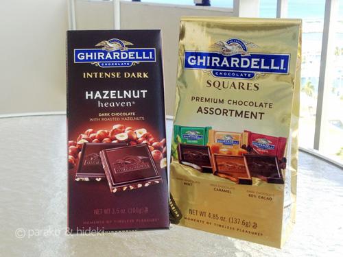 ギラデリチョコレート ハワイ