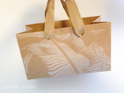 ハワイアン航空紙袋