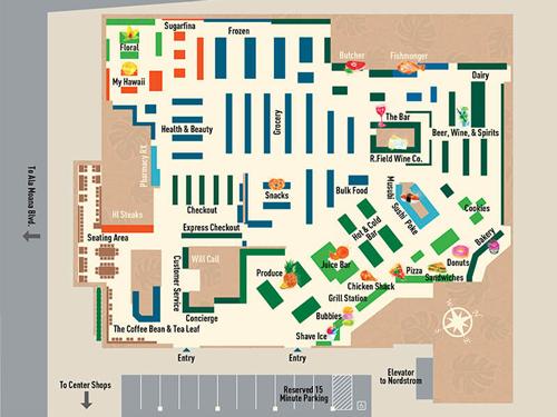 フードランドファームズ店内マップ