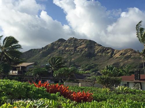 ハワイ ラニカイビーチから見るピルボックス