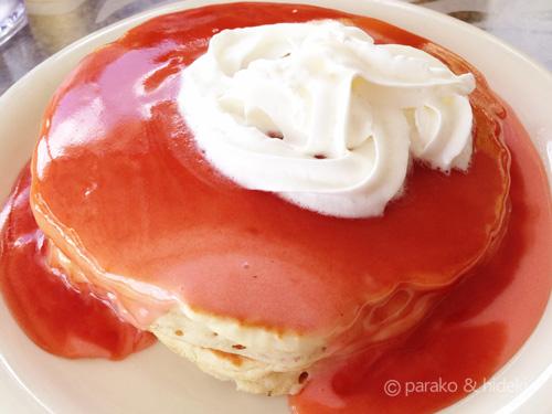 シナモンズのパンケーキ