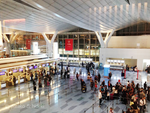 海外旅行(国際線)は何時間前に到着すべきか