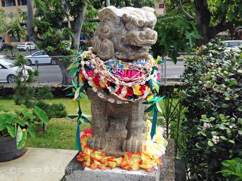 ハワイ出雲大社狛犬