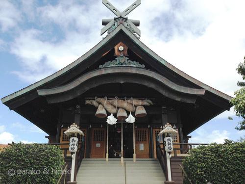 ハワイ出雲大社本殿