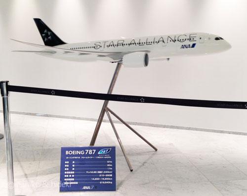 ANA航空機模型