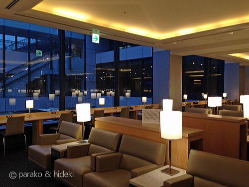 成田空港ユナイテッドクラブの雰囲気