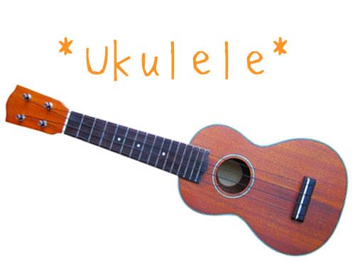 ハワイの民族楽器ウクレレ
