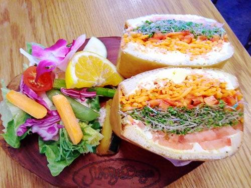 サニーデイズのサンドイッチ