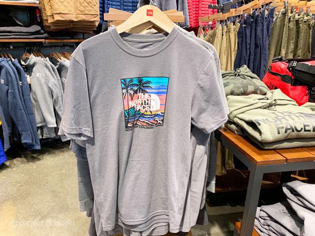 ノースフェイスハワイ限定Tシャツ