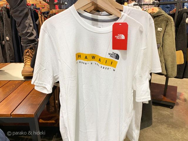 ノースフェイス ハワイ限定Tシャツ