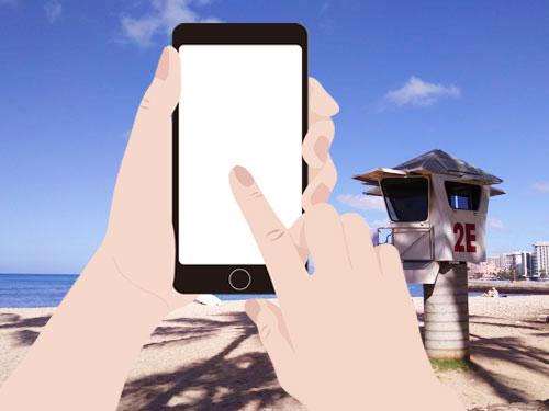 海外でiPhoneを使う