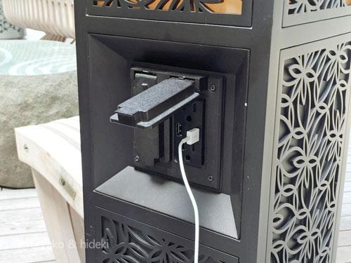 ハワイの公共USB充電ポート