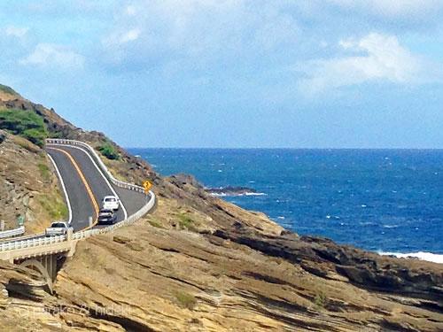 ハワイをレンタカーでドライブ