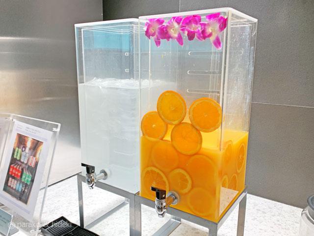 ホノルル空港 ANAスイートラウンジ(ファーストクラス利用者)飲み物