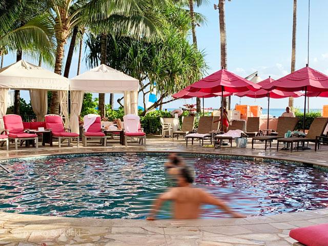ピンクパレス(ロイヤルハワイアンホテル)プール