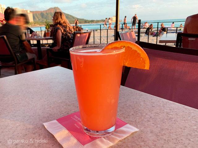 ピンクパレス(ロイヤルハワイアンホテル)ピンクビール