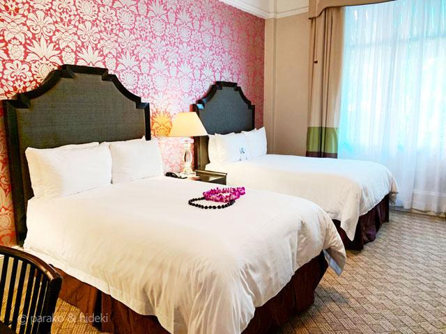 ピンクパレス(ロイヤルハワイアンホテル)部屋