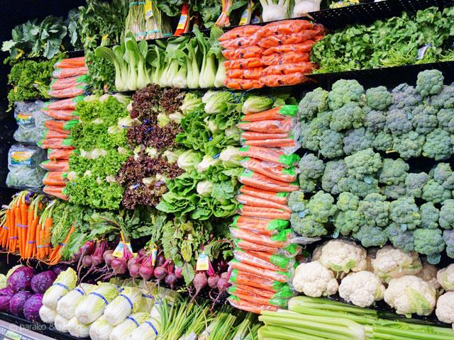 ダウントゥアースの野菜たち