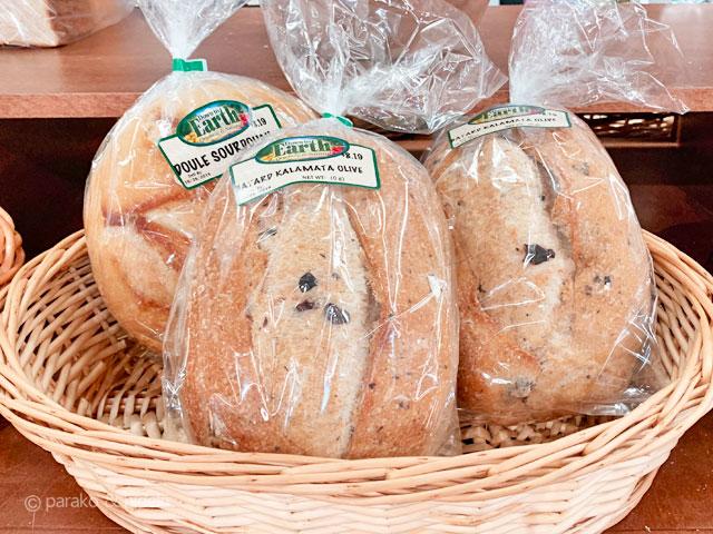 ダウントゥアースのパン