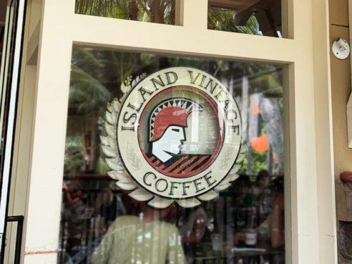 ハワイのアイランドヴィンテージコーヒー