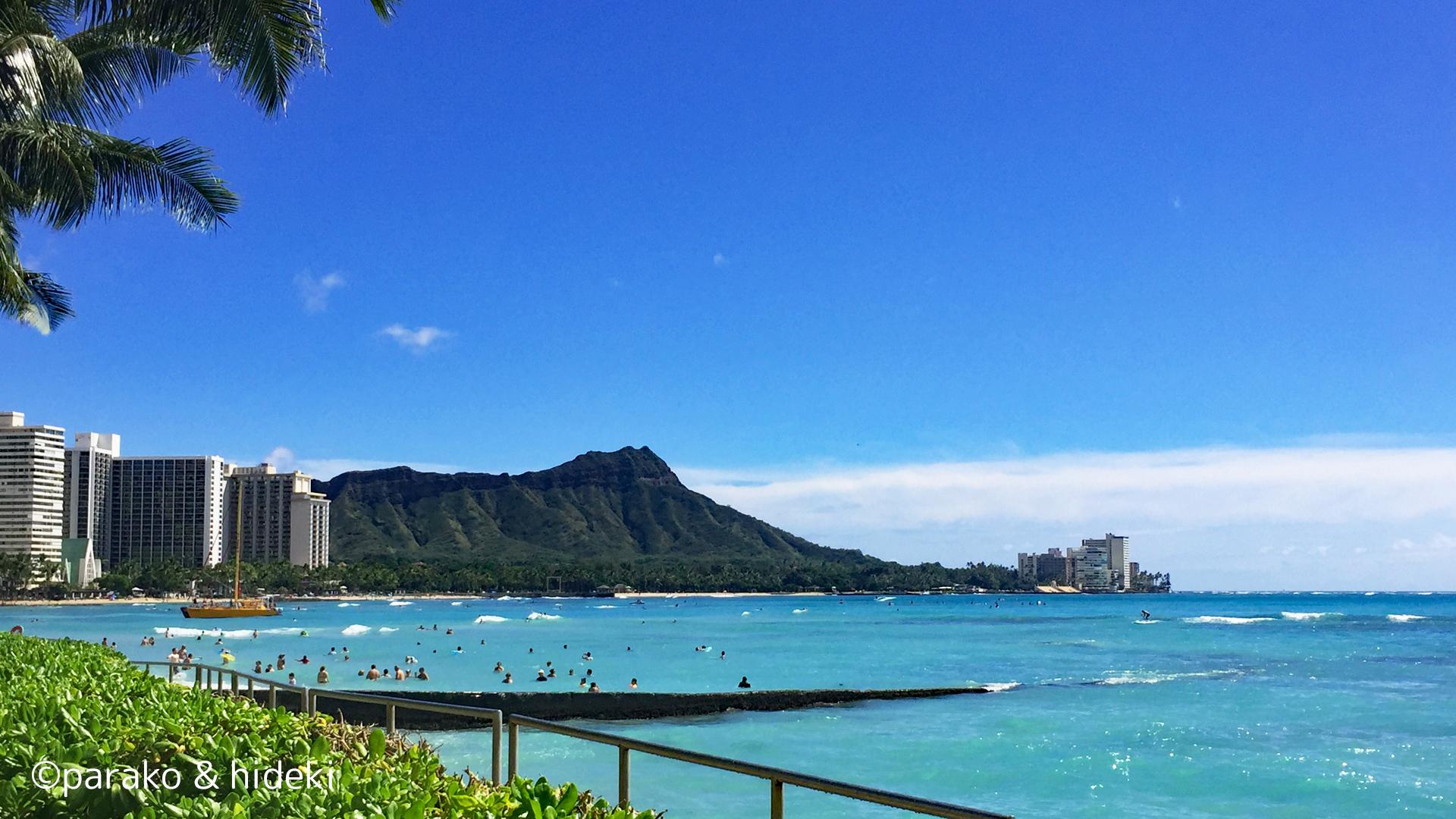 ワイキキビーチ(Waikiki beach)